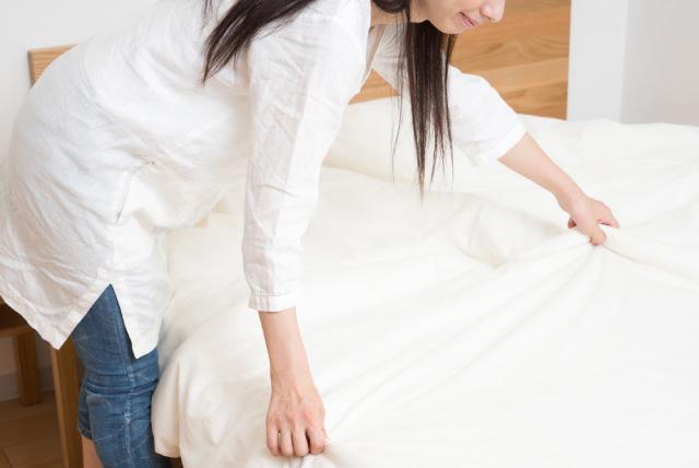 清潔で心地よい寝具