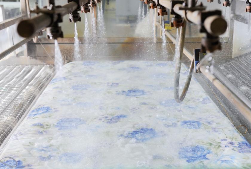 布団専用のクリーニング工場